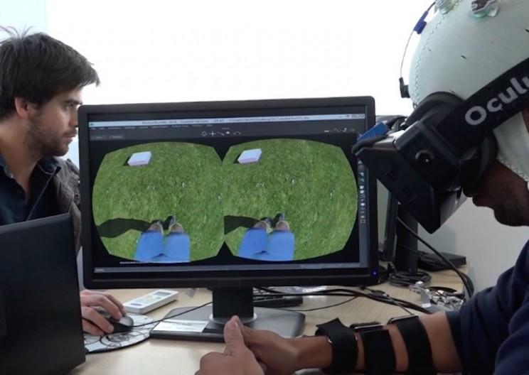 Virtual Reality and Robotics Allow Paraplegics to Walk