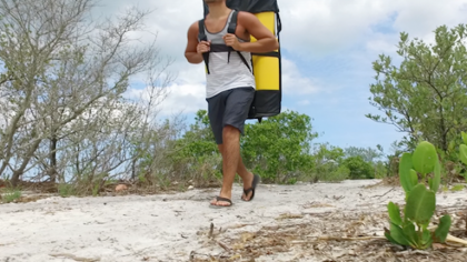 This Kayak Fits in a Backpack so You Can Travel the World