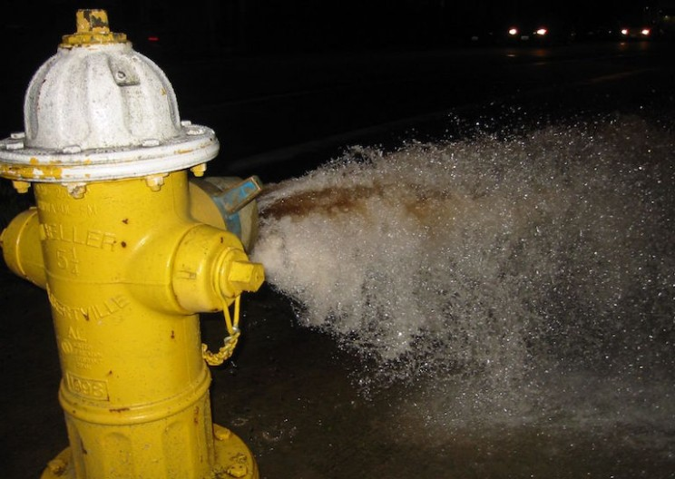 Why Flushing Hydrants and 'Wasting' Water Keeps You Safe