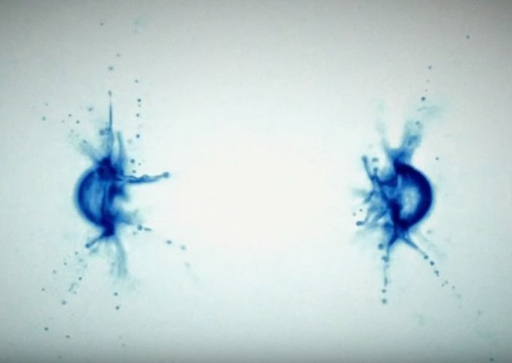 First Ever Footage of Water Droplets Being Blown Up by Lasers