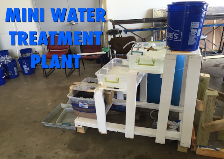 We Built a Miniature Drinking Water Treatment Plant – Learn About Creating Clean Water
