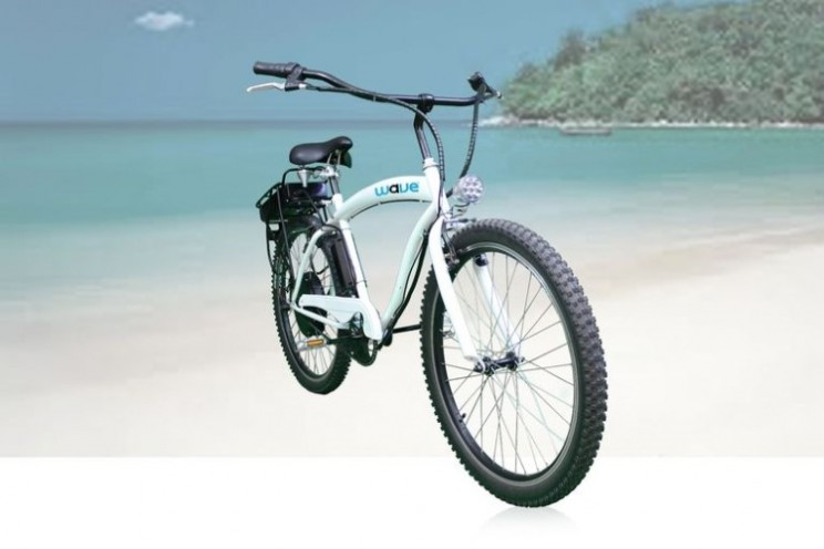 Wave electric bike has half the price tag of other e-bikes