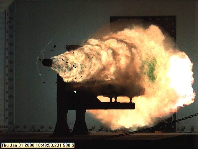 Railgun Tested by the US Navy