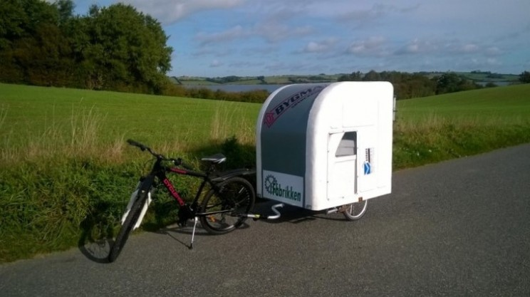 Wide Path Camper is the ultimate in lightweight caravans for two