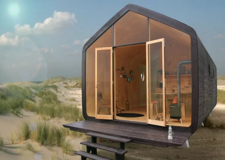 Affordable and Sustainable Cardboard House Lasts for 100 Years
