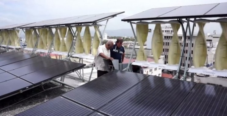 Sunny Jamaica is home to the largest hybrid renewable energy project in the world