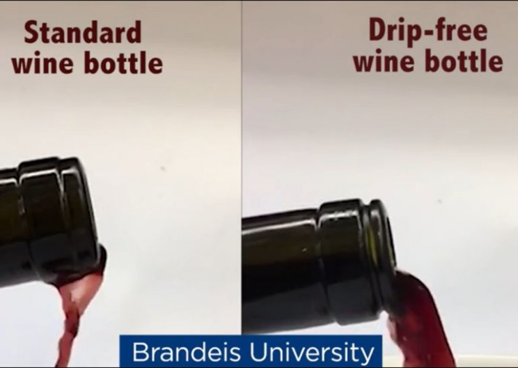 Wine Drinkers Will Go Crazy for This Drip-Free Wine Bottle