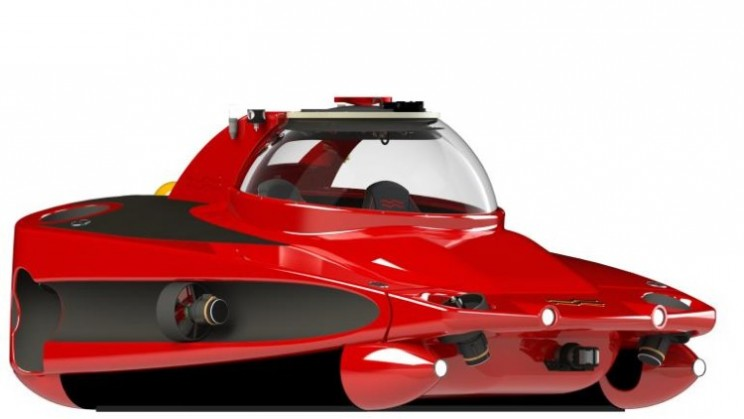 "The HP Sport Sub 2 from U-Boat Worx is the underwater ""Ferrari"""