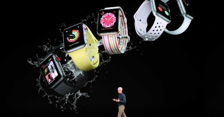 Apple iPhone Event 2018 Unveils Watches That Tackle Falls