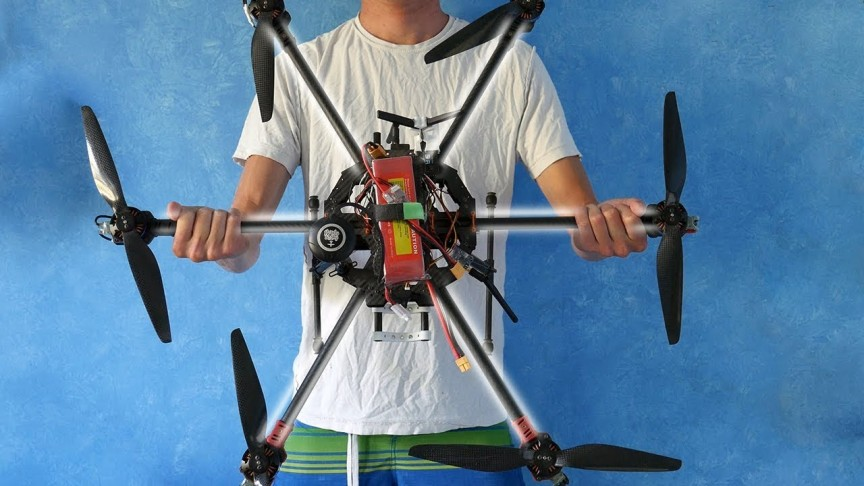 This Hexacopter Build Video will Make You Want to DIY Your Own Drone