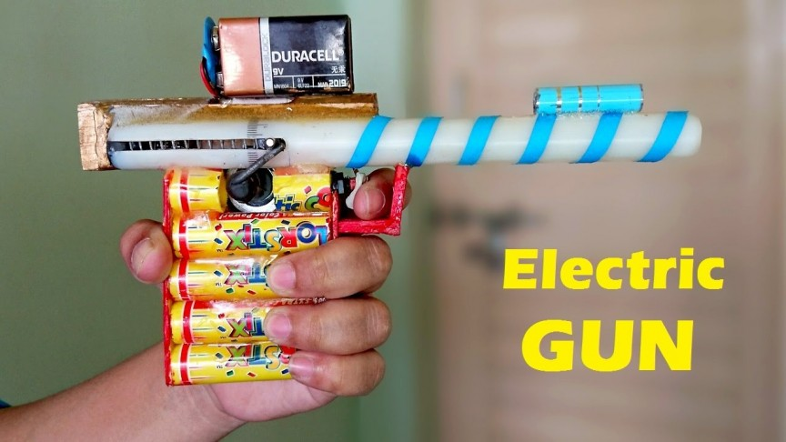 How to Make an Electric Gun with an Electric Motor