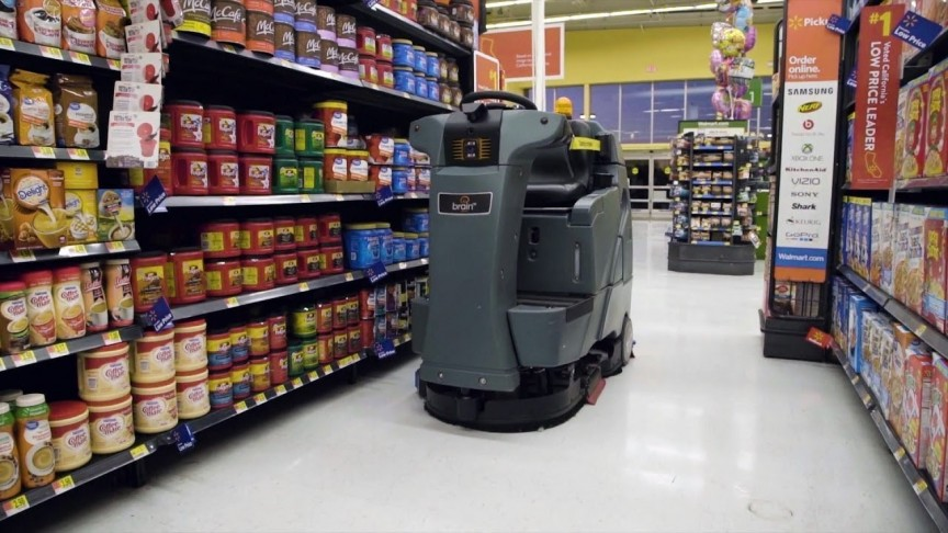 Walmart Now Has Robot Janitors Scrubbing Their Floors