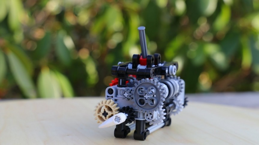 This 17-Year-Old Will Show You How to Build a Working Six-Speed Gearbox  with LEGO Parts