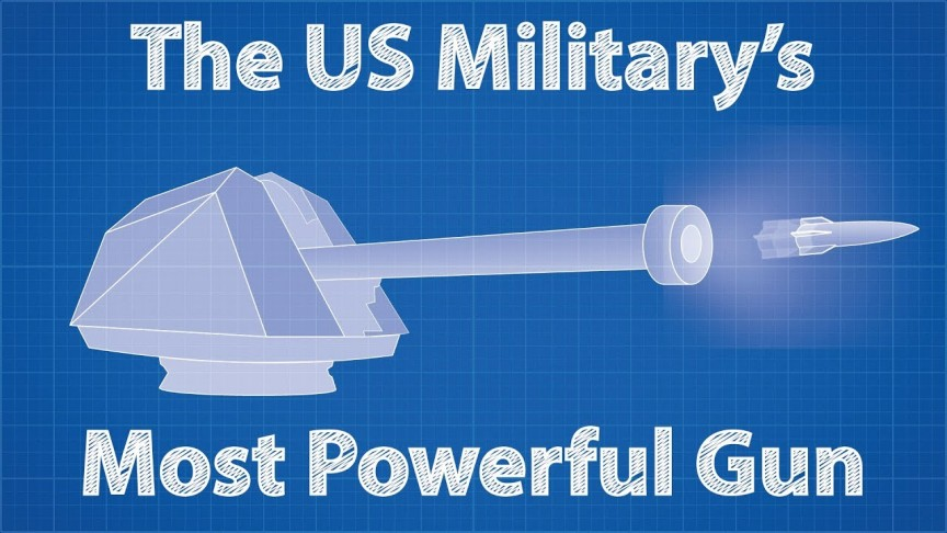 This Is the Technology Behind the US Military's Largest Gun