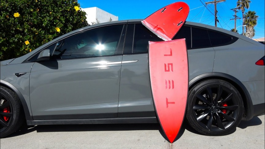 This is What's Inside The Limited Edition Tesla Surfboards