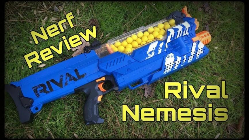 Nerf Guns: New Nerf Rival Gun Fires Foam Balls at up to 70 MPH