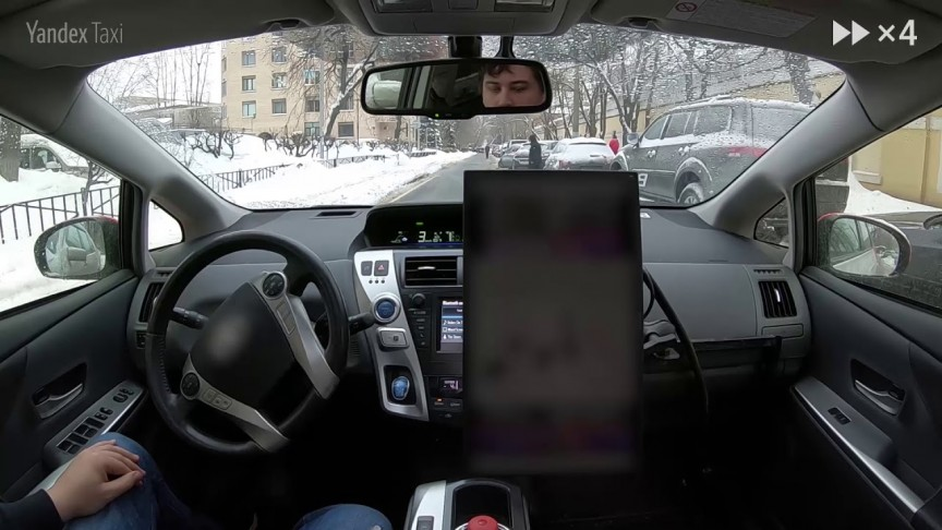 This Self-Driving Car Just Went for a Spin Around the Snowy Streets