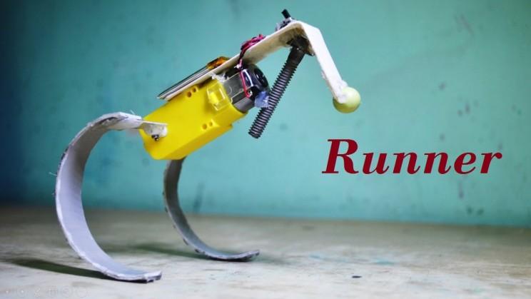 This Simple DIY Robot Can Run and Hop Like a Kangaroo