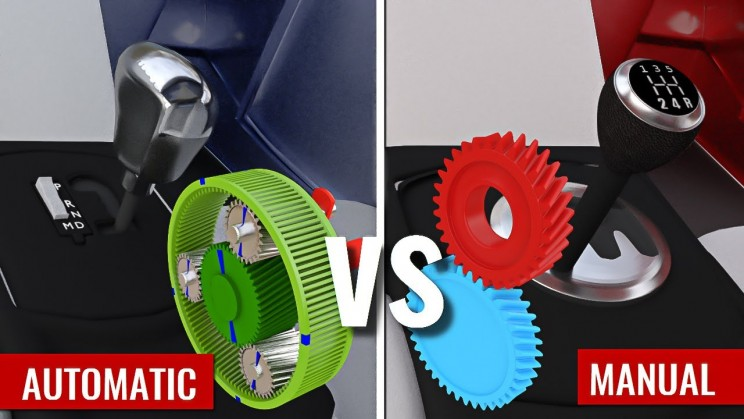 Watch the Difference Between Automatic and Manual Transmission