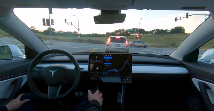 New Video Shows Tesla's Full Self-Driving Technology at Work