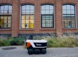 Russia's Internet Giant Yandex Testing Autonomous Delivery Robots