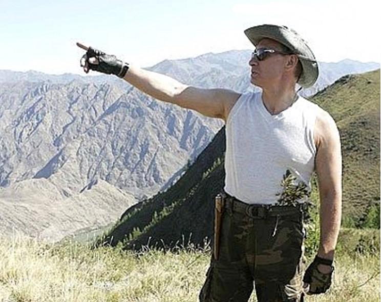Strongman Vladimir Putin