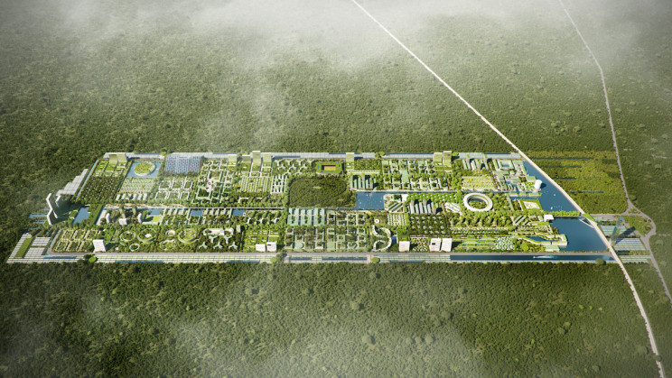 Architecture Firm Designs Smart Forest City Cancun That's Fully Self-Sufficient