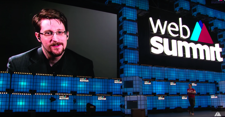 Edward Snowden Calls Out 'Abuse' of Facebook, Google, Amazon Business Models