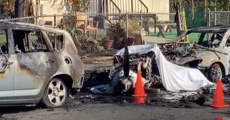 Civil Plane Crashes in Los Angeles Suburb, Kills Pilot