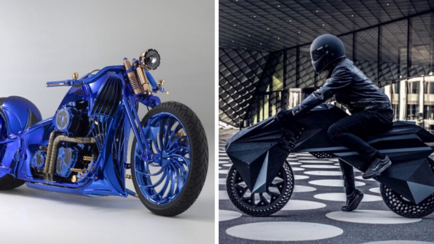 11 Eye Catching Examples Of Unique Motorcycle Design