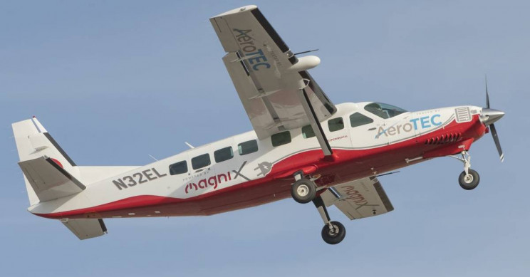 World's Largest Zero-Emission Aircraft, the Electric Cessna, Takes Off
