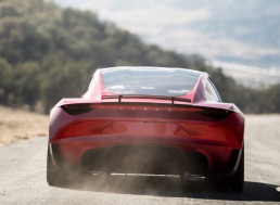 Elon Musk: Tesla's SpaceX Package Thrusters Will Be Subtly Hidden Behind License Plates