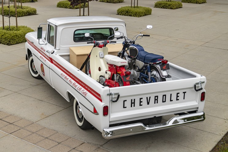 Honda Takes A Trip Down Memory Lane and restores This 1961 Chevy Pickup Truck