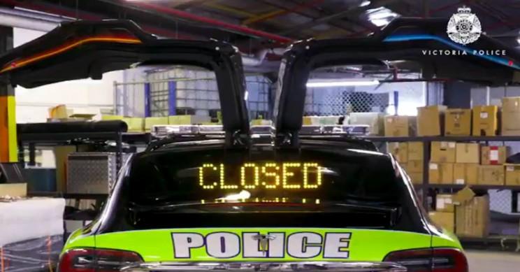 Australian Police Buy Tesla Model X for 'Research'
