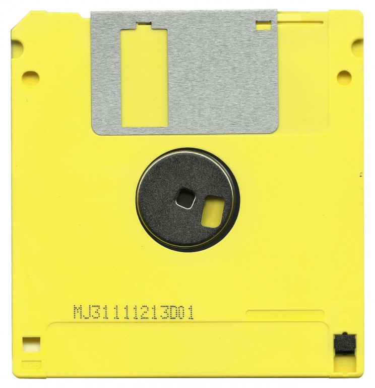 data storage floppy disk