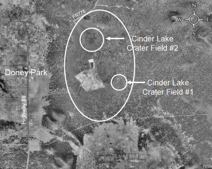 11 Facts About Moon-Like Apollo Training Ground, Cinder Lake Crater Field