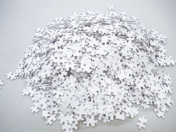 "Try Your Hand at this ""Impossible"" 1,000-Piece All-White Puzzle for $20 on Amazon"