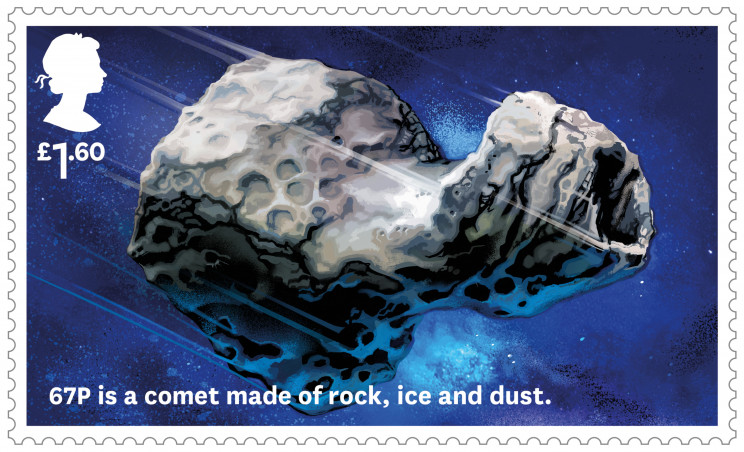 Royal Mail Issues 8 Stellar Stamps for Astronomical Society Anniversary