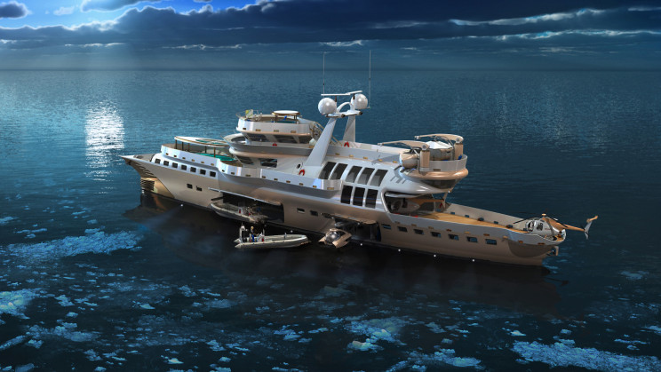New Explorer Superyacht Design Brings Research and Luxury Together