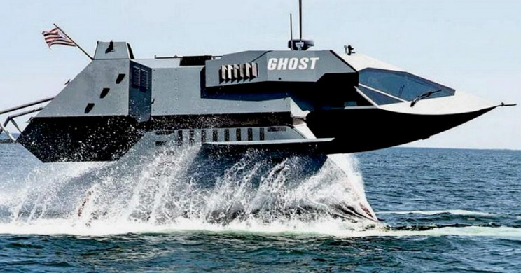 thie ghost stealth ship