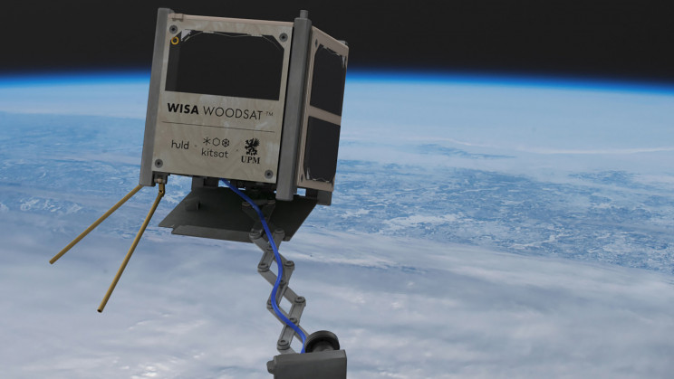 World's First Wooden Satellite Could Be In Orbit This Year