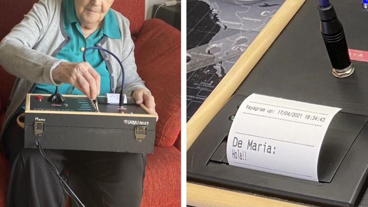 Yayagram: Ingenious Device Helps Creator's Grandma Use Telegram