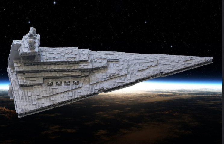 real-life inspiration of star destroyer
