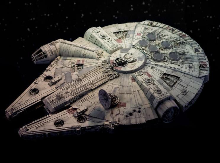 star wars ships inspiration millenium falcon