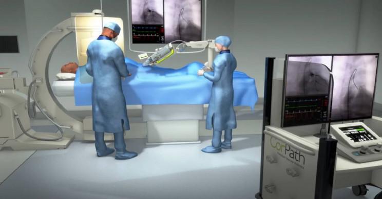 First Long-Distance Heart Surgery Performed Through a Robot