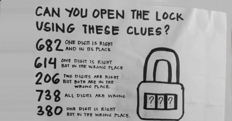 Solve the 'Open the Lock' Puzzle That Has Internet Puzzled