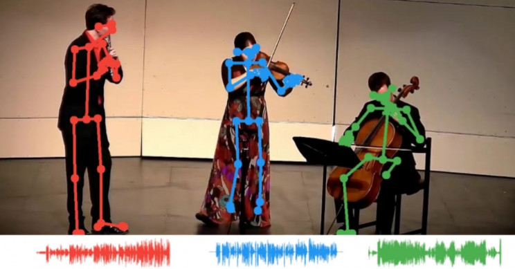 Neural-Network Can Identify a Melody Through Musicians' Body Movements