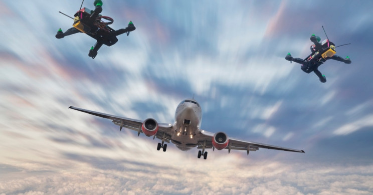 Pilots Blind to Approaching Drones Most of the Time, New Research Says