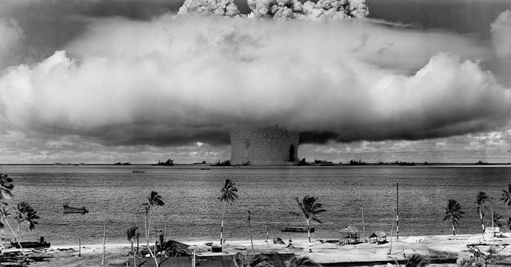 What Creates the Mushroom Cloud When an Atomic Bomb Blows Up?