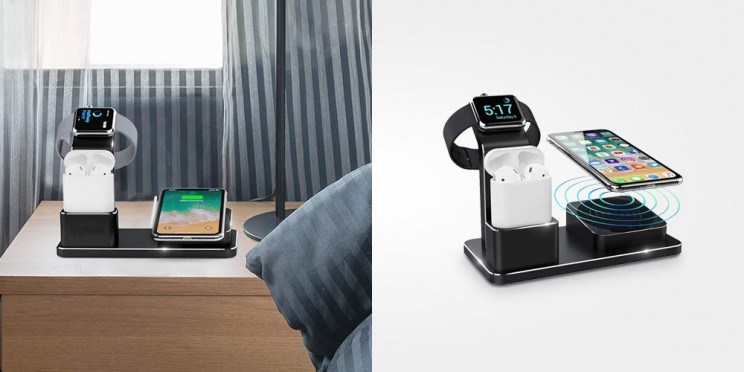 Charge All of Your Devices at Once with This 3-In-1 Wireless Dock